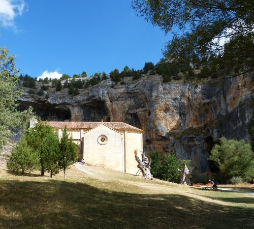 templar chapel in the rio lobos canyon